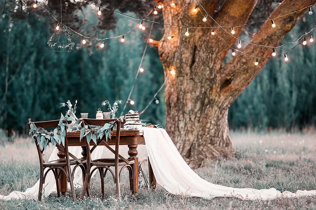 Freie Trauung - Hochzeit im Freien